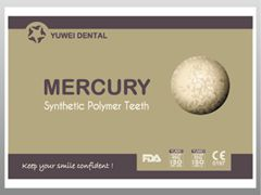MERCURY:false (artificial) teeth
